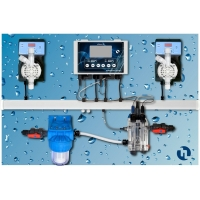 Авт.станция дозир и контр. POOL TOP GUARD (PH/RX/CL/T) PANEL(SONDA CL)/QPA8M11238ER